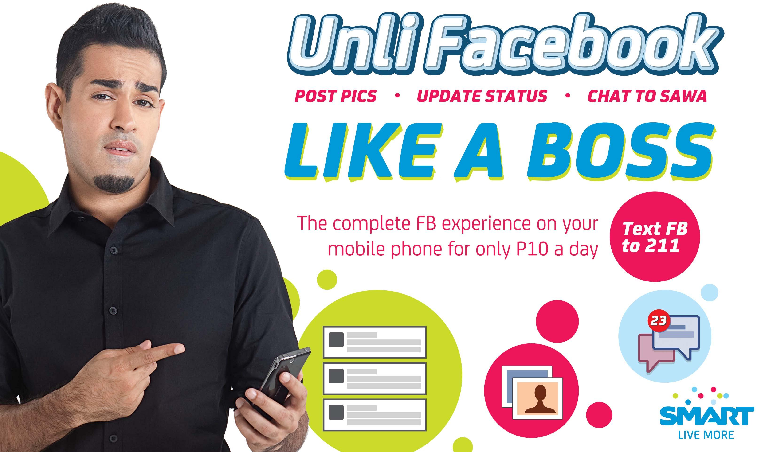 Unli facebook smart mobile store for Smart pic for facebook
